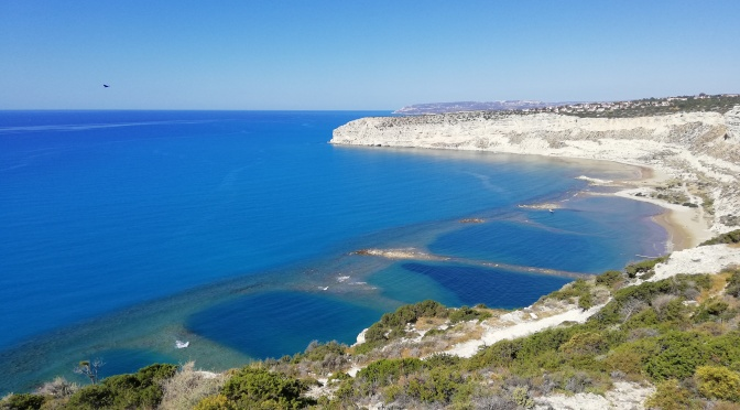 A hike down to Zapallo Bay, the ancient natural port